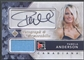 2011 In The Game Canadiana #AMPA2 Pamela Anderson Memorabilia Auto