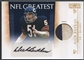 2010 Playoff National Treasures #25 Dick Butkus NFL Greatest Signature Materials Patch Auto #13/15