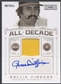 2012 Panini National Treasures #41 Rollie Fingers All Decade Signature Materials Jersey Auto #01/25