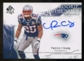 2009 Upper Deck SP Authentic #345 Patrick Chung RC Autograph /799