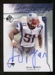 2009 Upper Deck SP Authentic Chirography #CHJM Jerod Mayo Autograph