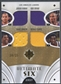 2008/09 Ultimate Collection #USLSHO Kobe Bryant Jerry West Cooper Odom Magic Johnson Farmar Jersey #34/35