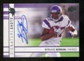 2009 Upper Deck Signature Shots #SSBB Bernard Berrian Autograph