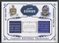 2008 Playoff National Treasures #4 Chad Henne & Mario Manningham Rookie Laundry Tag #03/10