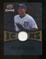 2009 Upper Deck Icons Icons Jerseys Gold #CA Miguel Cabrera /25
