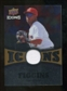 2009 Upper Deck Icons Icons Jerseys Gold #CF Chone Figgins /25
