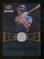 2009 Upper Deck Icons Icons Jerseys Gold #JF Jeff Francoeur /25