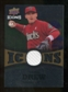 2009 Upper Deck Icons Icons Jerseys Gold #SD Stephen Drew /25
