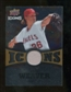 2009 Upper Deck Icons Icons Jerseys Gold #WE Jered Weaver /25