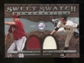 2009 Upper Deck Sweet Spot Swatches Dual #WL Tim Lincecum/Brandon Webb
