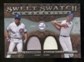 2009 Upper Deck Sweet Spot Swatches Dual #SW Ryne Sandberg Billy Williams