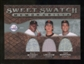 2009 Upper Deck Sweet Spot Swatches Triple #SFG Juan Marichal Tim Lincecum Willie McCovey