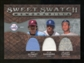 2009 Upper Deck Sweet Spot Swatches Triple #SSC Orlando Cepeda Ryne Sandberg Mike Schmidt