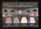 2009 Upper Deck Sweet Spot Swatches Quad #VET Billy Wagner/Roy Halladay/Tom Glavine/Josh Beckett