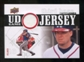 2010 Upper Deck UD Game Jersey #CJ Chipper Jones