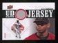 2010 Upper Deck UD Game Jersey #WW Wesley Wright