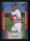 2009/10 Upper Deck USA Baseball #USA40 A.J. Vanegas