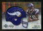 2007 Upper Deck Sweet Spot Rookie Signatures Gold #139 Sidney Rice /29