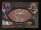2007 Upper Deck Sweet Spot Pigskin Signatures Dual #RJ Sidney Rice Chad Johnson /50