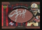 2007 Upper Deck Sweet Spot Pigskin Signatures Red #AP Antonio Pittman /15