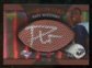 2007 Upper Deck Sweet Spot Pigskin Signatures Bronze 25 #WI Paul Williams Autograph /25