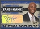 2005 Leaf #3 Taye Diggs Fans of the Game Auto