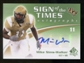 2010 Upper Deck SP Authentic Sign of the Times #MW Mike Sims-Walker Autograph