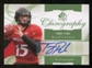 2010 Upper Deck SP Authentic Chirography #TO Tony Pike Autograph