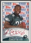 2009 Topps Rookie Premiere #LM LeSean McCoy Red Ink Rookie Auto