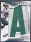 "2009 SP Authentic #BLSDE DeSean Jackson Patch By the Letter ""A"" Auto #4/9"