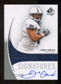 2010 Upper Deck SP Authentic #147 Jared Odrick Autograph /599