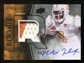 2010 Upper Deck Exquisite Collection #130 Montario Hardesty RC Patch Autograph 17/120