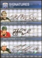 2008/09 Upper Deck Be A Player Signatures Trios #S3BSG Niklas Backstrom James Sheppard Colton Gillies 33/35