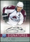 2008/09 Upper Deck Be A Player Signatures #SJS Joe Sakic Autograph