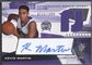 2004/05 SPx #130 Kevin Martin Rookie Jersey Auto /1999