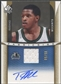 2006/07 SP Authentic #RM Rashad McCants Jersey Auto #05/50