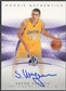 2004/05 SP Authentic #161 Sasha Vujacic Rookie Auto /1499