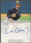 1999 SP Authentic #EC Eric Chavez Chirography Auto
