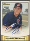 1998 Bowman #15 Richie Sexson Certified Blue Auto