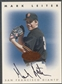 1996 Leaf Signature #132 Mark Leiter Auto