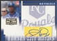 2005 Prime Patches #37 Jermaine Dye Major League Materials Auto