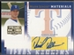 2005 Prime Patches #11 David Dellucci Major League Materials Auto