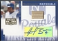 2005 Prime Patches #33 Angel Berroa Major League Materials Bat Auto #228/250
