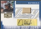 2005 Prime Patches #42 Orlando Hudson Major League Materials Bat Auto #057/250