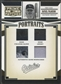 2005 Prime Patches #14 Rafael Palmeiro Portraits Quad Swatch Shoe Glove Jersey #17/50