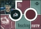 2002/03 Upper Deck Reaching Fifty Jerseys #50JS Joe Sakic