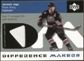2002/03 Upper Deck Difference Makers Jerseys #JJ Jaromir Jagr
