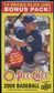 2009 Upper Deck O-Pee-Chee Baseball 15-Pack Box