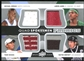 2013 Upper Deck Employee #UD2012 Quad Spokesmen Jersey Michael Jordan LeBron James Tiger Woods Wayne Gretzky