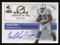 2007 Upper Deck SP Rookie Threads Scripted in Time Autographs #SITJA Joseph Addai Autograph /100